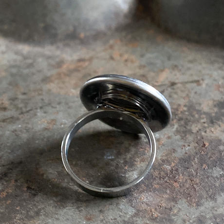 CLOPOA standard round ring silver #16【K0588】