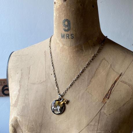 CLOPOA standard necklace moss green【K0602】