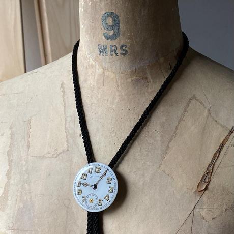 "antique dial looptie ""1920's military""【K0552】"