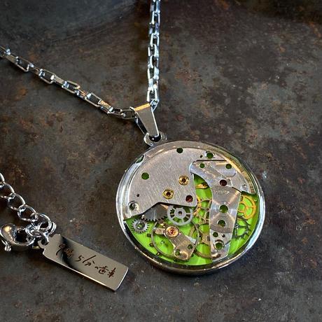 CLOPOA standard necklace lightgreen【K0557】