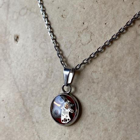 CLOPOA petit necklace red 【K0553】