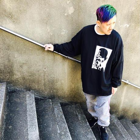 【3XL】KYULI-GUN MODE【KIGEKI】LONGSLEEVE  T-shirts