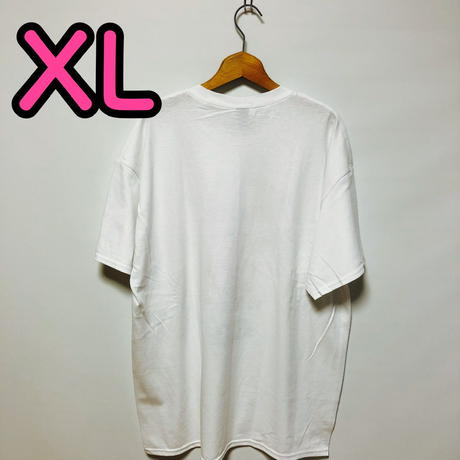 【XL】白隊員プリントカッパTシャツ
