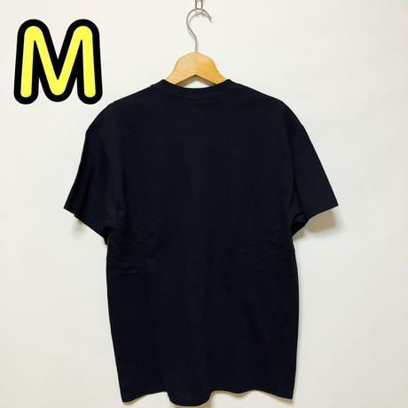 【M】黒隊員プリントカッパTシャツ