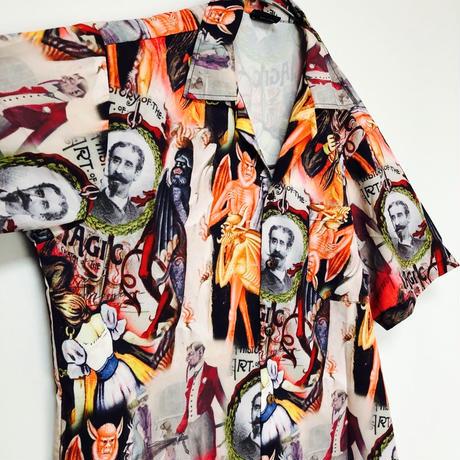 【都市伝説】悪魔崇拝デザインシャツ
