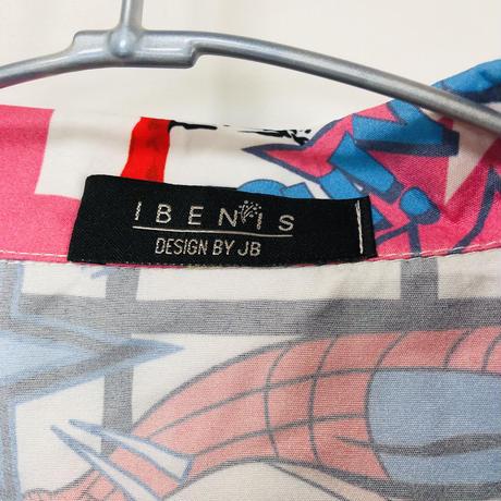 【MAVEL】スパイダーマン &キャプテンアメリカデザインシャツ