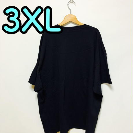 【3XL】黒隊員プリントカッパTシャツ