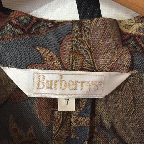 【イタリア製】Burberry ヴィンテージ ペイズリー セットアップ