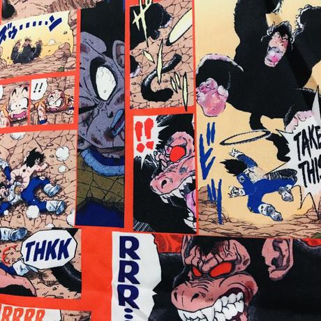 【漫画】ドラゴンボールコミックデザインシャツ