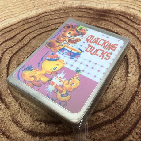 クマ&アヒルピンクステンレス缶ケース