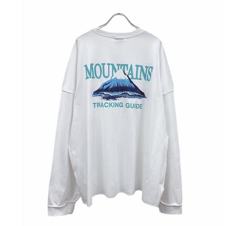 【受注終了】Mountain L/Tee
