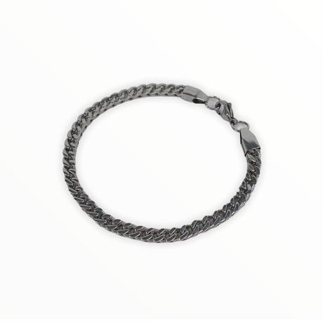 Solid chain bracelet