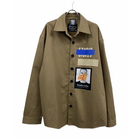 Studio shirt jacket☆Jayne K+