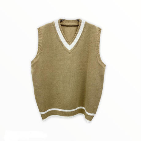 【受注終了】Knit Vest