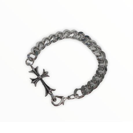 Cross chain bracelet