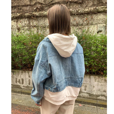 Denim×Sweat Jacket