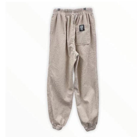 Corduroy jogger pants