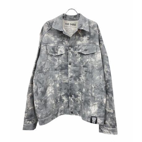 Damage denim jacket