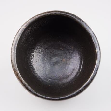 西岡良弘 黒唐津茶碗