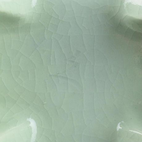 河井 久 花紋扁壷