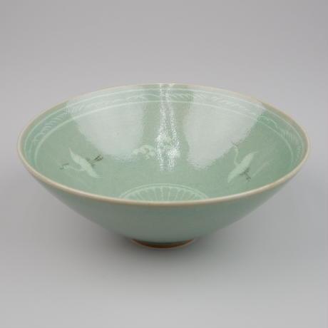 李方子 高麗焼青磁茶碗