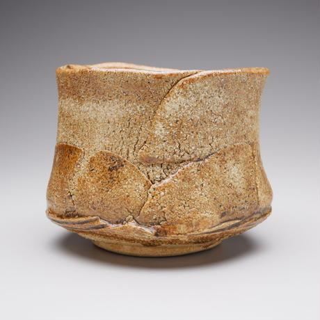 河本五郎 灰釉茶碗