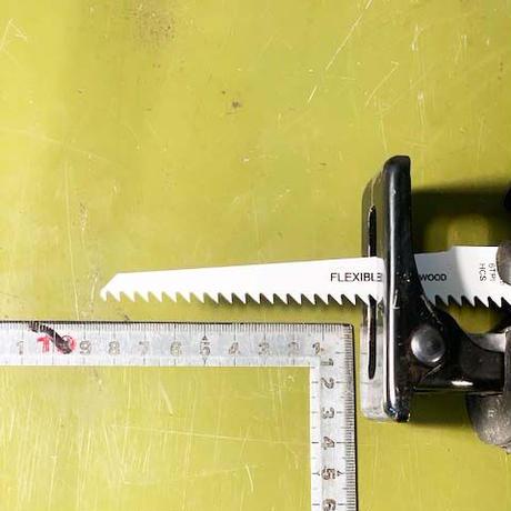 レシプロソー用替刃 木工用(廉価版) 150mm6TPI