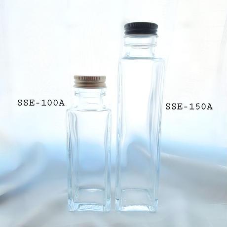 【ガラスビン】四角150ml 5本セット