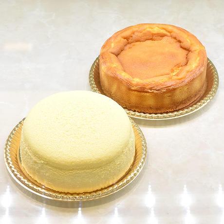 エールフロマージュスフレ+ベイクドチーズNYスタイル