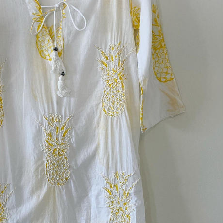 tunique cotton broderie (white)