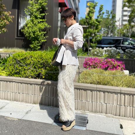 【LONGBEACH 】MUKKU PANTS(White)