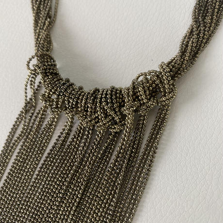 chain fall necklace (gold)