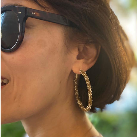 Tiny Beaded Earrings