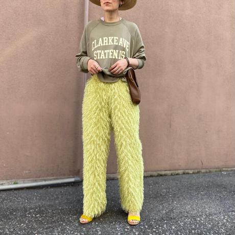 【LONGBEACH 】MUKKU PANTS(Yellow)