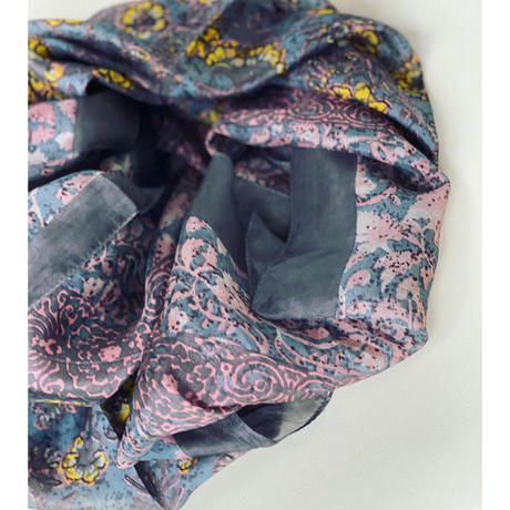 slik scarf de Paris(mauve)