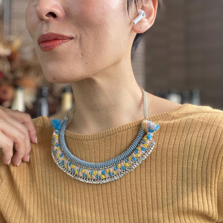 collier africain(Yellow)