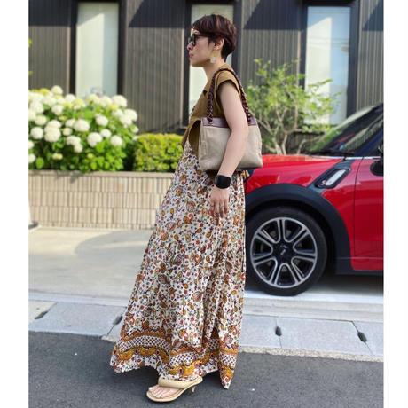 singlet cotton dress(ECRU)