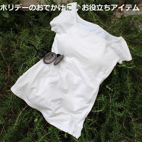 ブラトップ フレンチ(サポート機能/胸パット付き) (la sakura)2228