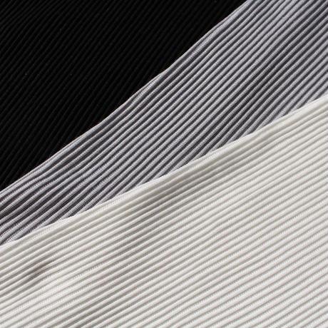 コットンシルクリブ/レース・UV長袖インナー(la sakura)2315