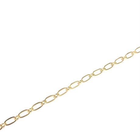 オーバルチェーンネックレス 90cm