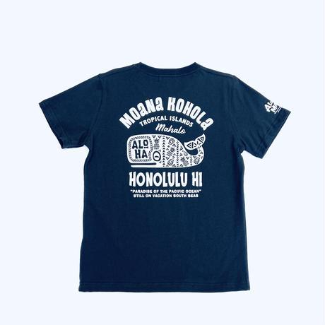 HAWAIIAN TEE クジラ(Moana Kohala)