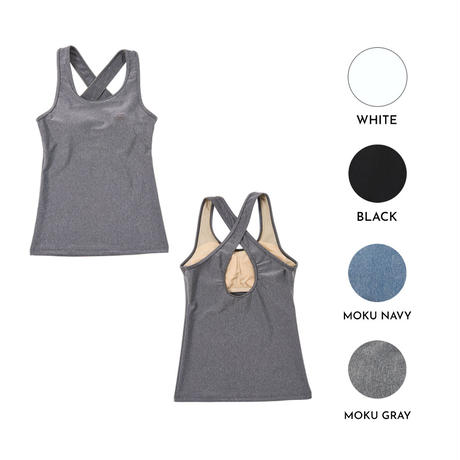 2229 SOLID CROSS TANK TOP