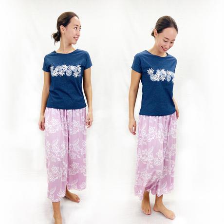 9019 GARDEN  RESORT PANTS<RESORT ONEPIECE FAIR>