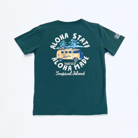 HAWAIIAN TEE   バス(ALOHA STATE)