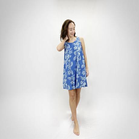 9007 GARDEN  TUNIC DRESS<RESORT ONEPIECE FAIR>