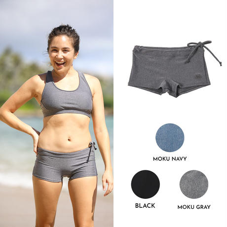 2227 SOLID BOX SWIM PANTS