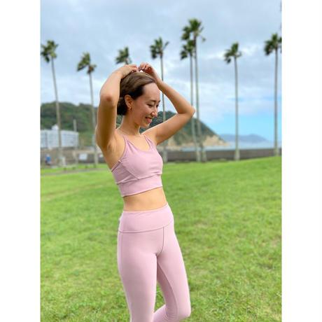 2302CAMI BRA TOP  LONG丈< 海とサンゴを守るSustainble Yoga Wear>