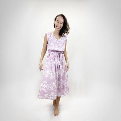 9010 GARDEN  LONG DRESS<RESORT ONEPIECE FAIR>