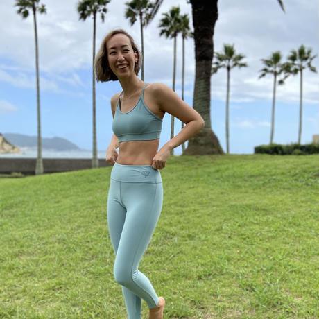 2303 TIGHTS (FULL丈)< 海とサンゴを守るSustainble Yoga Wear>