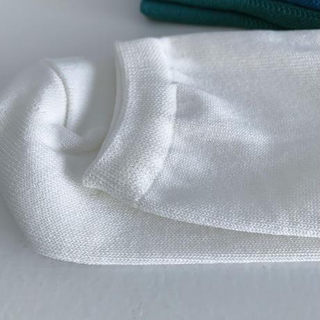 美濃和紙編物靴下